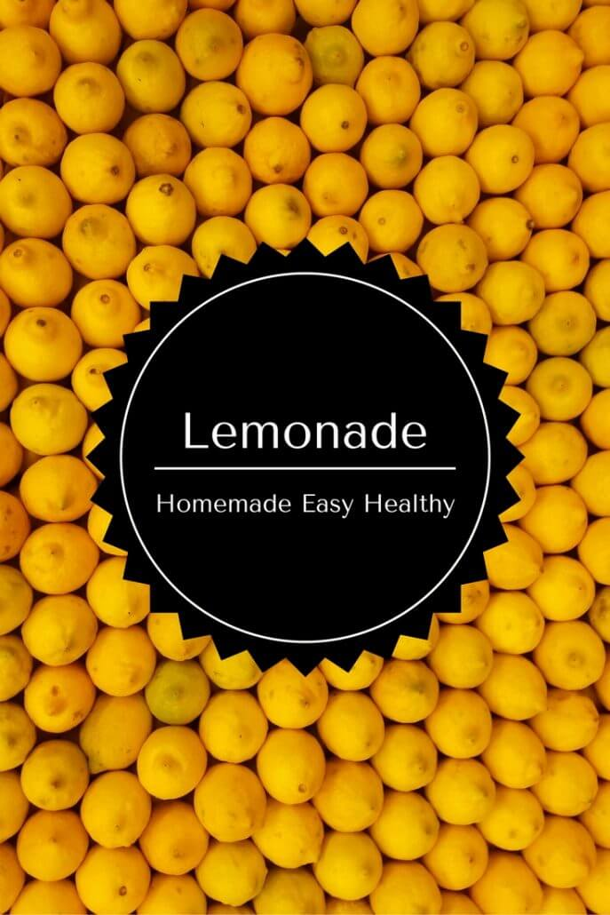 homemade irresistible lemonade
